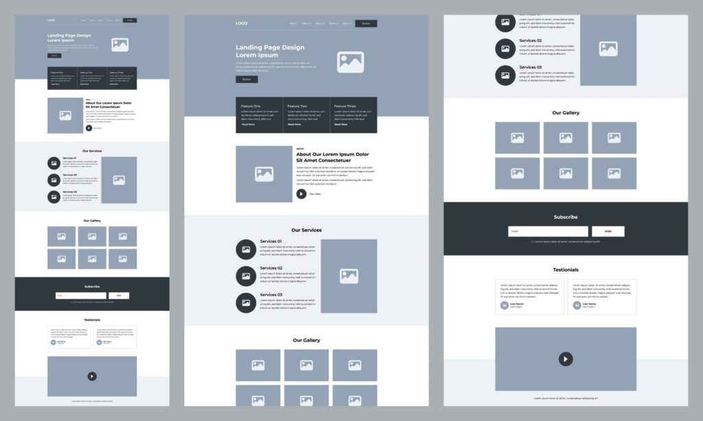 Website Design and Development for Law Firms